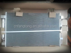 Automobile aluminum condenser for Japanese cars DPI;3639 OEM:92100-JA00A