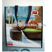 Enviornment Laminated PP Woven Tote bags For Promotional,Enviornment Laminated PP Woven Folding bags For Packing