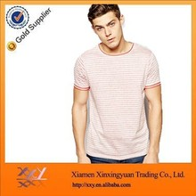 Mens Slim Cool Fit O-Neck Stripe T-Shirt Online Shopping In China