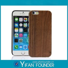 Plain wood case phone,phone case for iPhone wood,wood bamboo case for iphone 5 6