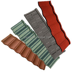 Good price color stone coated metal roofing tile / lightweight corrugated steel tiles with new design / insulated roofing tiles