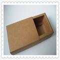 Brown kraft paper food packaging box