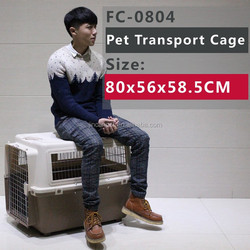 FC--0804 model Pet soft crate/ pet transport cage , applications for large size