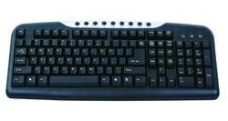 hot sale multimedia wired keyboard