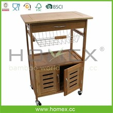Delicacy bamboo kitchen work station/HOMEX-FSC,BSCI