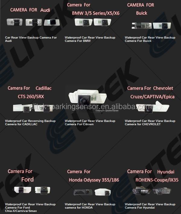 постоянного тока 12-24v 2 на 1 заднего камера заднего вида с датчиком парковки, зеркало заднего вида вариант