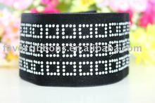 Wedding Diamond velvet ribbon,Decorate velvet tape,Fashion velvet ribbon-Favor Ribbons