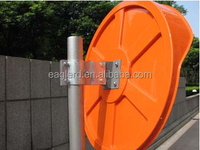 60cm PC motorcycle orange convex mirror