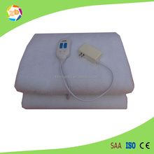 Different colors and fashion 100% polyester electric heating blanket
