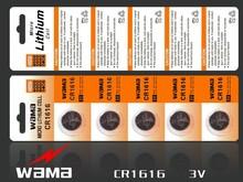 CR1616 battery CR1616 3 Volt Lithium Batteries