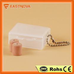EASTNOVA ES801 best pu foam round earplug case