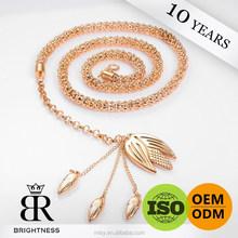 Latest garment gold chains design 2015 of metal chain Brightness F1-80206