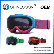 new model anti-fog protective motorcycle ski glass for Junior