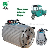 20.China low price electric powered cars 3 wheel tricycle motor with good quality, wheel motor 10kw.