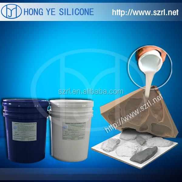 Faible retrait de silicone pour le moule de fabrication de marbre artificiel( d'étain de condensation série)