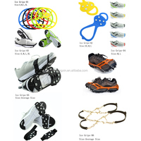Antislip Rubber Shoe Cover Ice Cleats