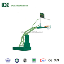 Indoor Electric Hydraulic Remote Control Basketball Stand