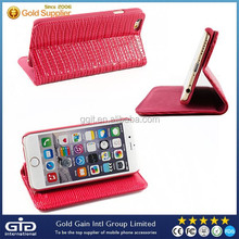 [GGIT]Luxury Wallet Pattern Leather Stand Case For iPhone 6