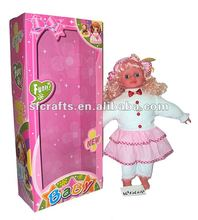 2012 new stuffed doll toy for girl