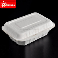 Deli container, sugarcane pulp box