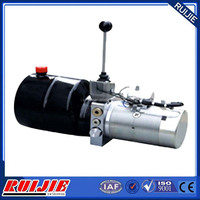 professional power pack 12v dc hydraulic power unit for fork lift 2