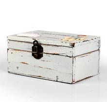 Retro wooden box original natural wooden Making-replica multifunction foldable storage with lock box WM2026