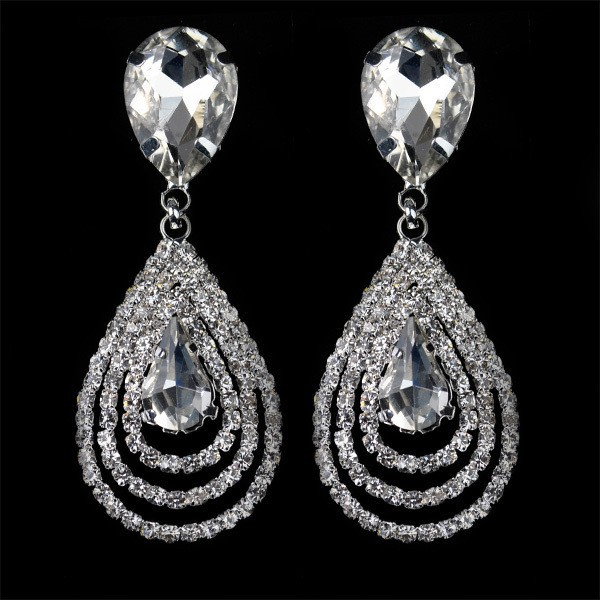 Christina-Sparkling-dangle-crystal-earrings-brincos-glass-water-drop-rhinestone-earrings-2014