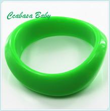 China Manufacturer cheap custom silicone bracelet teething Mold Process Wholesale