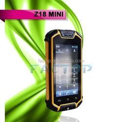 Wholesale price android 4.2 unlock bar dual sim rugged phone Z18 mini bluetooth 2.0 mobile phone