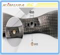 T-motor 7 * 2.4 Carbon Fiber hélice CW / CCW para rc drone parte toy ventas al por mayor