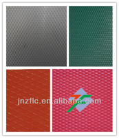 color coated diamond embossed aluminum plates for facades