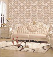 3d Deccorative Flower Design PVC Wallpaper for Hoom Decor