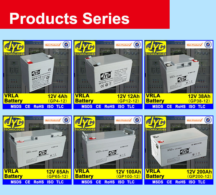 VRLA battery Products series
