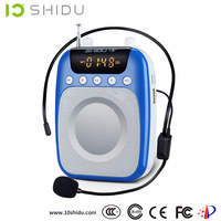 teaching bluetooth speakers mini pocket microphone karaoke player voice Amplifier portable voice megaphone