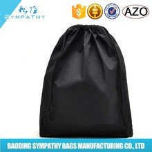 factory OEM/ODM brushed cotton drawstring bags with logo