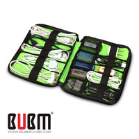 HIgh Quality BUBM Cable Storage Bags with Nylon Usb Cable Small Travel Bag