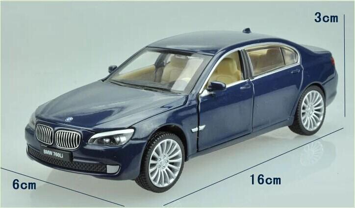 132 Alloy Car Model For BMW 760Li-21