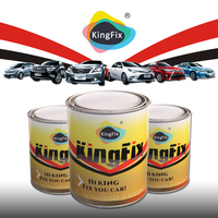 KINGFIX Brand 2k solid colors berger car paints For Existing finishes