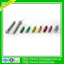 Competitive price Low price All kind of Screw Colored aluminum hex cap screw