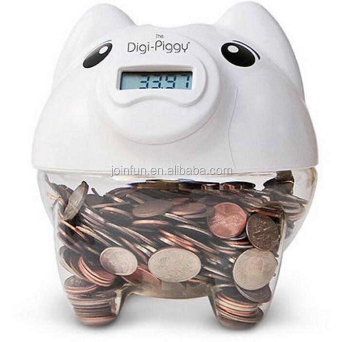 Clear Coin Bank Custom Coin Bank Custom