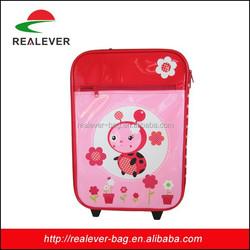 kids cardboard suitcase/children cartoon luggage