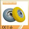 8inch small PU foam rubber wheels for trolley
