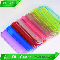 transparent free sample nontoxic tpu case for galaxy s5