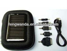 Outdoor portable rechargeable solar charger bag for mobile phone