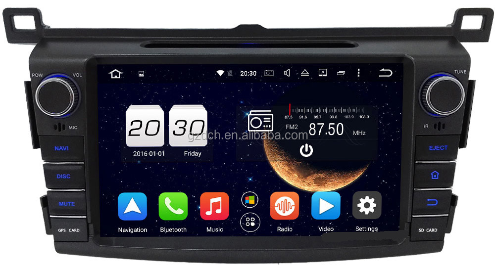 how to get android auto on 2016 rav4