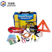 Responsible 36pieces car roadside emergency kit for car maintenance