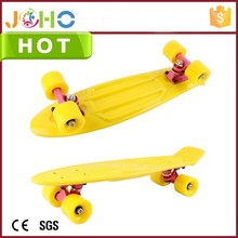 Custom Plastic Adults Mini Street surfing monorover cheap penny fiberglass skateboard for sale
