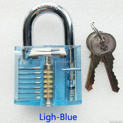 fancy Clear/Transparent Padlock inside padlock company suppliers in Xiamen
