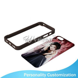 For Iphone 5 Sublimation Blank Phone Case 2D fashion mobile phone cover