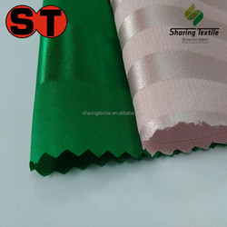 Manufacture Directly Polyester Sateen Stripe Fabric/Hotel Bedding Stripe Sateen Fabric/Hotel Stripe Satin Fabric